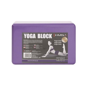 Purple Yoga Blok Hms Kj01